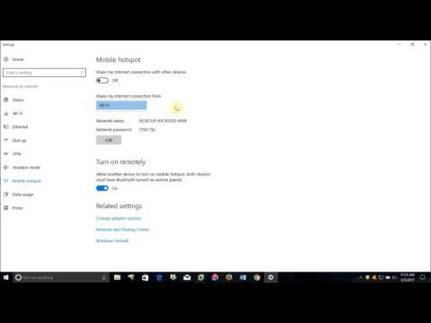How To Use Windows 10 Computer As A Wifi Hotspot Network Or Repeater Free No Additional Software