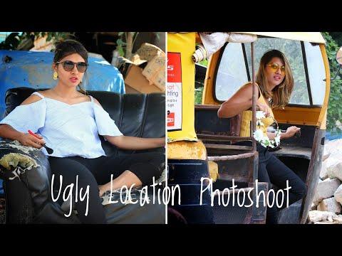 Ugly Location Photoshoot Challenge India || SuperWowStyle Prachi