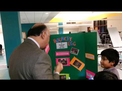 Bouncy Egg science fair project by Jess Khan AABEA
