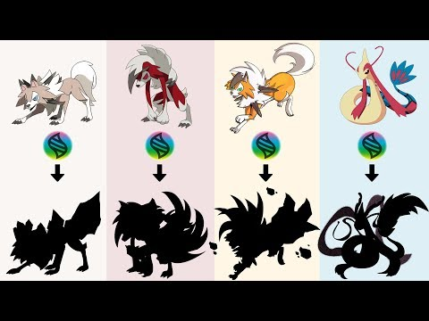 Fan Requests #28: Mega Lycanroc Dusk Form, Midday Form, Midnight Form, Mega Milotic