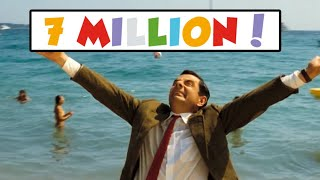 7 Million Subscribers! | Thank You | Mr Bean Official