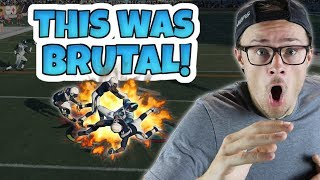 THE MOST VICIOUS HIT STICK! - IS THIS GUY STILL ALIVE!? Madden 18 Packed Out
