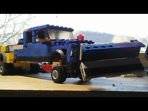 Building A Lego Snow Plow