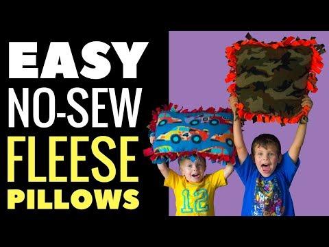 How To Make A Fleece Knot Pillowcase