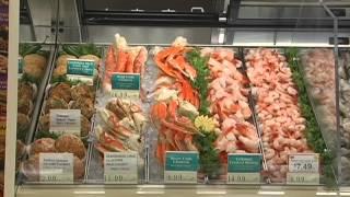Seafood Display Training