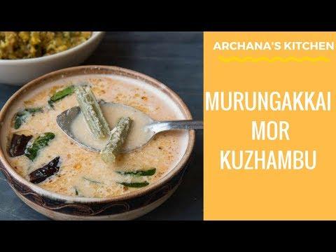 Murungakkai Mor Kuzhambu - South Indian Recipes by Archana's Kitchen