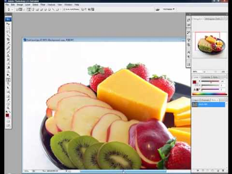Photoshop Basics - Using The Pen Tool To Cut Images Out.