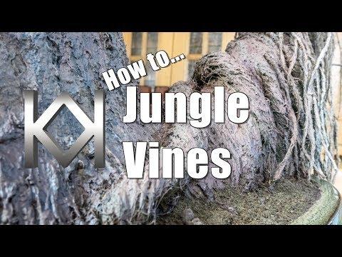 Halo Diorama - Jungle Vines