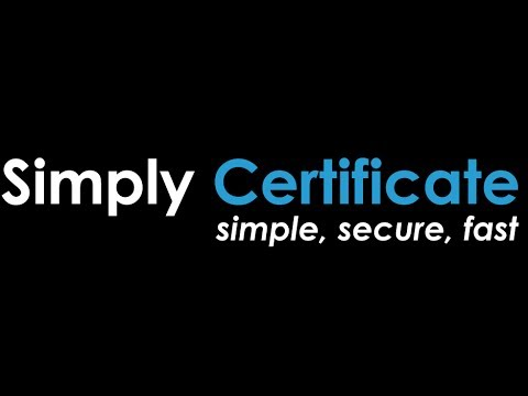 Simply Certificate