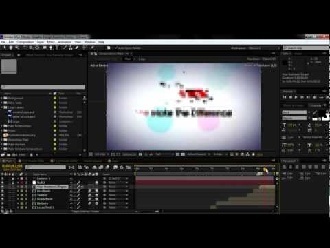 How to Edit: Graphic Design Business Promo AE Template