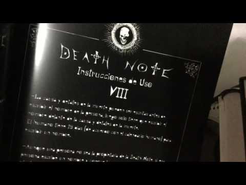 Cómo saber si tu Death Note (libreta) es original.