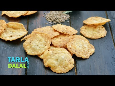 जीरा पूरी - Jeera Puri, Kids School Snack Recipe by Tarla Dalal
