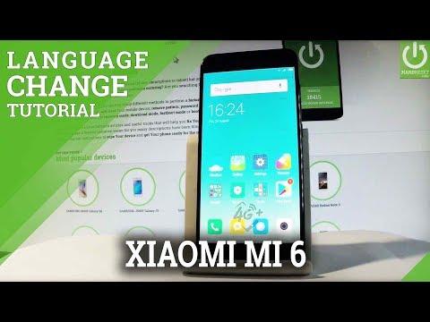 How to Change Language on XIAOMI Mi 6 - Language Settings