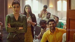 Janaki Nayakan Malayalam Movie Scenes   Crowd Saves Kajal & Bellamkonda Srinivas From Police
