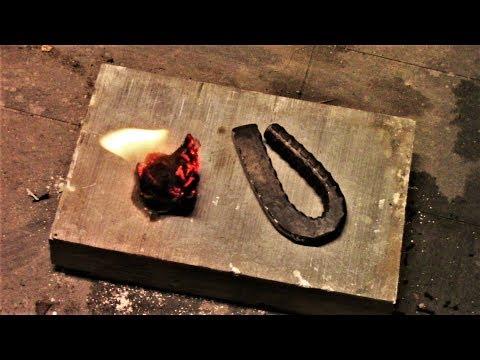 Blacksmith Projects: Flint Striker Made With Rebar