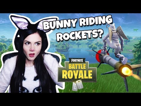 Bunny rocket riding to victory | Alithia highlights