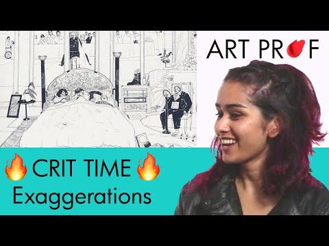 Art Critique: Pen Drawing / ART PROF