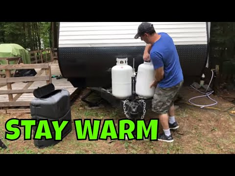 How To Change or the Propane Tanks on a RV