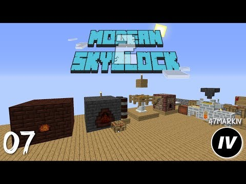 Modern Skyblock 2 - Ep 7 - Fake Smeltery