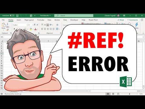 #REF! Error in Excel