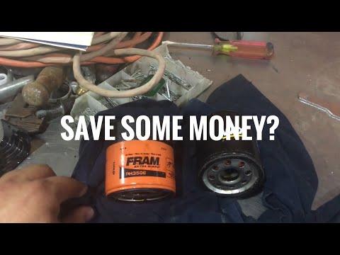 Fram vs Wix Oil Filter