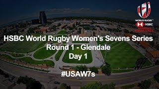 We're LIVE for the final session on day one of the HSBC USA Women's Sevens in Glendale
