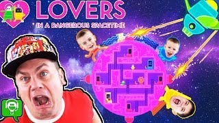 Lovers in a Dangerous Space Time with HobbyFamily In Spaceship HobbyKidsGaming