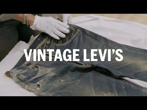 How to see vintage Levi's 501s | FASHION AS DESIGN