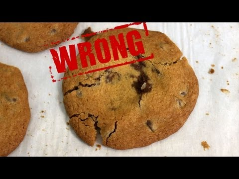 How to Make Chocolate Chip Cookies - You're Doing It All Wrong