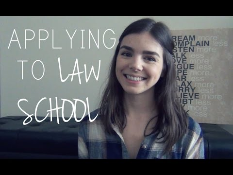 Applying to Law School | Part 1