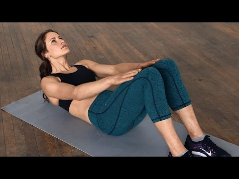 2 Minute Easy Ab Workout for Beginners