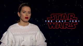 Star Wars: The Last Jedi Interview - Daisy Ridley