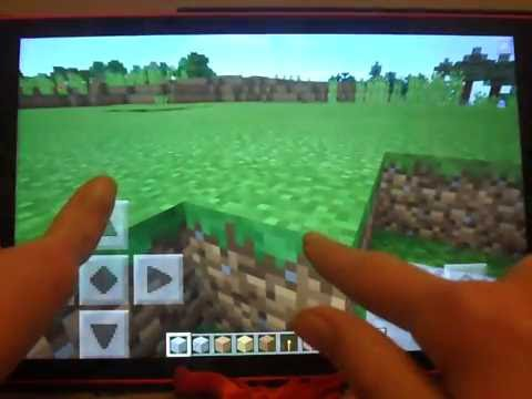 Basic Tutorial for Minecraft Pocket Edition beginners