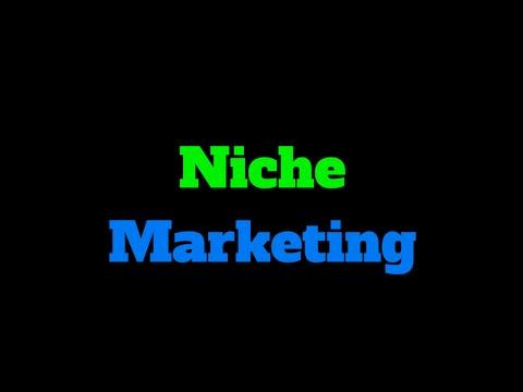 *Niche Marketing* and