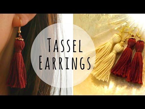How to Make Tassel Earrings