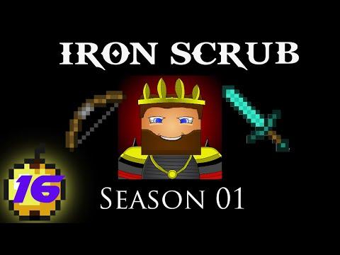 Minecraft: IRON SCRUB - S01E16 - Glitching Blazes