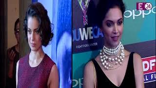 Kangana ने साधा  Deepika पर निशाना ,कहा - टुकड़े-टुकड़े गैंग को...