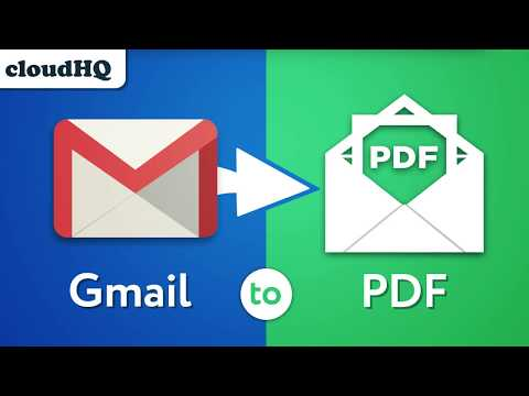Save Your Gmail Emails to PDF, CSV, or Excel