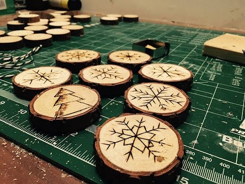 DIY/ wooden Christmas decorations