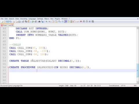 SQL Stored Procedure - Salary Calculations 1