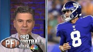 When will Daniel Jones make first start? | Pro Football Talk | NBC Sports