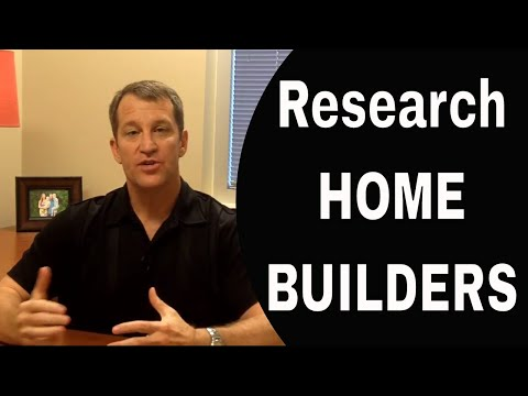 Do Research on New Home Builders So You Don't Get The Shaft