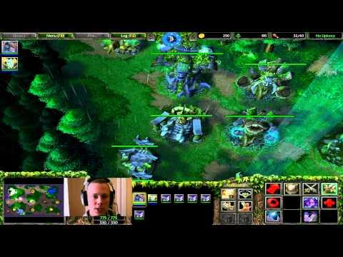 Warcraft 3 - How To Night Elf Build Order (Frozen Throne)