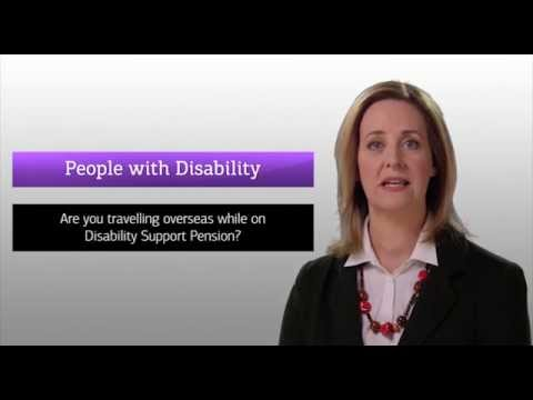 Are you travelling overseas while on Disability Support Pension?