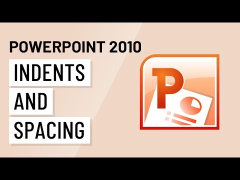 PowerPoint 2010: Indents & Spacing