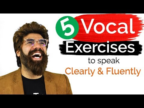 Vocal Warm Up Exercises to Sound and Communicate Better during Speeches, Presentations, Interviews