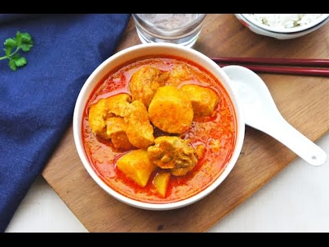 Chicken Curry (Malaysian Chinese- Style)