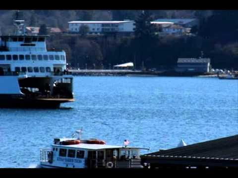 Seattle-Bremerton Ferry Arrival
