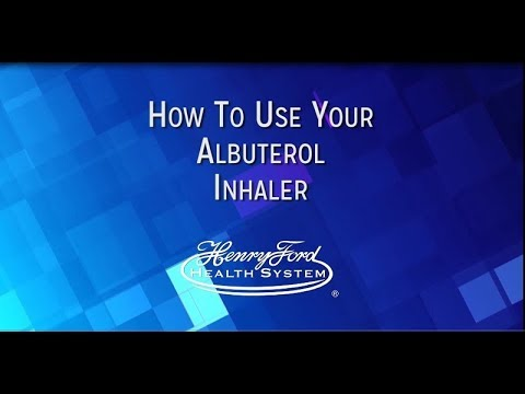 How To Properly Use Your Albuterol Inhaler