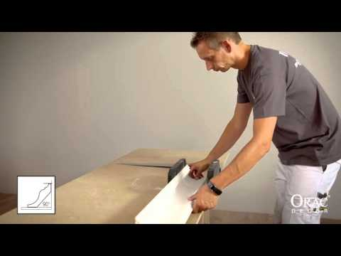 Coving & Cornice Mouldings - Cutting a Stop End